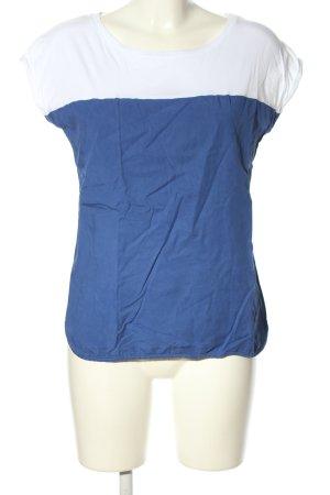 Wunderwerk Blouse Top blue-white casual look