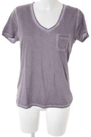 Wunderwerk T-Shirt grauviolett Casual-Look