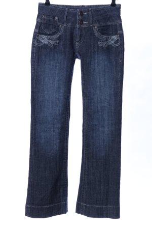 X-Mail Boot Cut Jeans blau Casual-Look