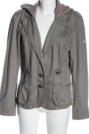 X-Mail Veste à capuche gris clair style décontracté