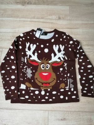 Only Christmasjumper multicolored polyacrylic