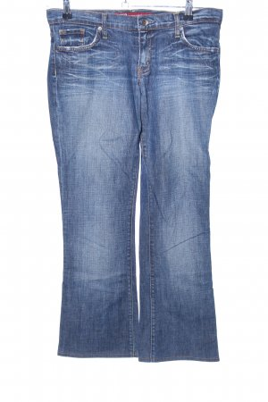 x-two Boot Cut Jeans blau Casual-Look