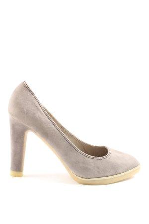 xacaret High Heels hellgrau Casual-Look