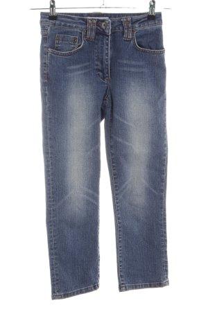 Xanaka 7/8-jeans blauw casual uitstraling