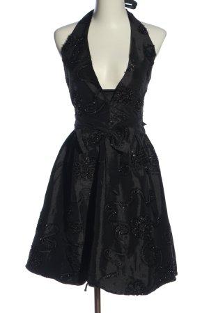 Xanaka A-Linien Kleid schwarz Elegant