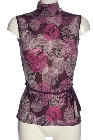 Xanaka ärmellose Bluse abstraktes Muster Casual-Look