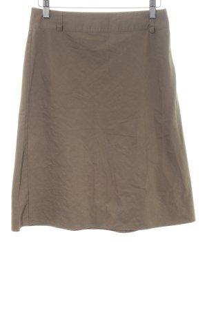 Xanaka High Waist Rock bronzefarben Casual-Look