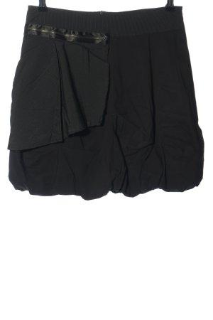 Xanaka Mini rok zwart gestreept patroon casual uitstraling