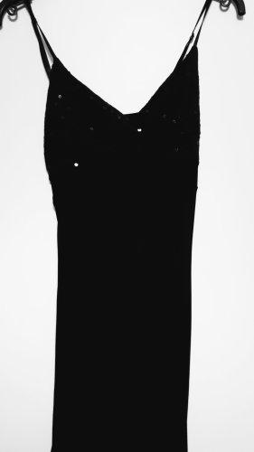 XANAKA schwarzes Kleid mit Pailetten