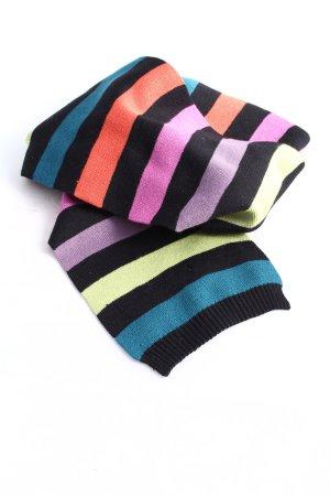 Xanaka Gebreide sjaal gestreept patroon casual uitstraling