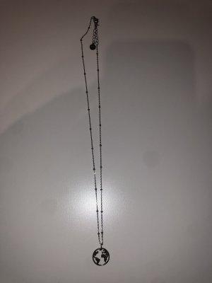 XENOX Cadena de plata color plata
