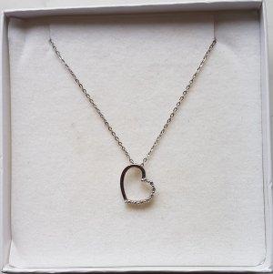 Xenox Herzkette Sterling Silber