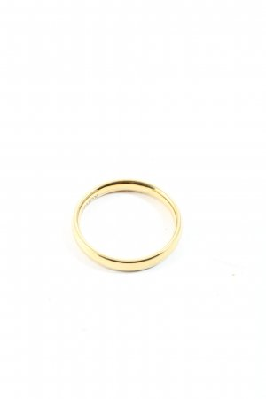 XENOX Anillo de la amistad color oro look casual