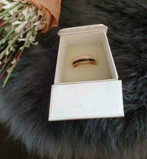 XENOX Złoty pierścionek Wielokolorowy