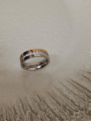 Xenox Stahl Ring/ rose