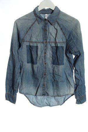 Xhilaration Chemise en jean bleu style décontracté