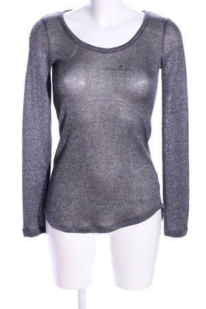 Xhilaration Camicia maglia grigio chiaro stile casual
