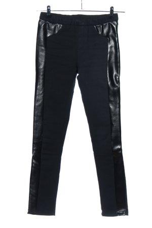 Xifan Tregging noir style mouillé