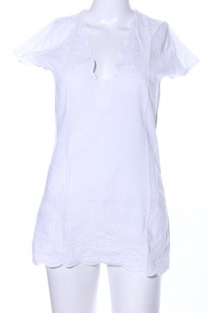 Shirt Tunic white casual look
