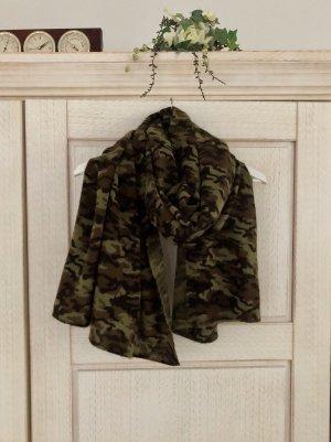 XL Camouflage Schal von Zara