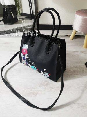 ⋙•-•-•-•➤ XL Handtasche mit zartem Blumen Print -  Neu m. Etikett ◉