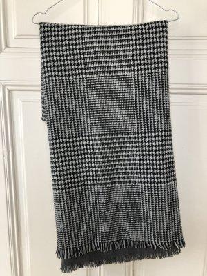 XL-Schal Hahnentritt / Grau