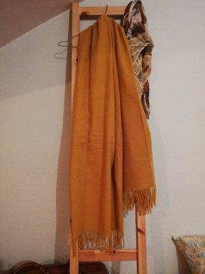 XL Schal senfgelb