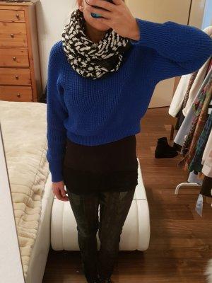 XL Tom Tailor Loop Schal Schlauchschal schwarz weiß