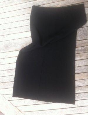 Le Comte Jupe en laine noir tissu mixte