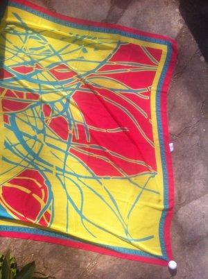 Classic Elegance Mantilla amarillo-rojo ladrillo Acrílico