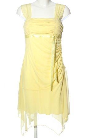 xoxo Trägerkleid blassgelb Elegant