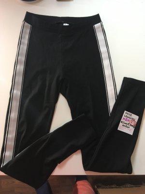 H&M Leggings blanco-negro