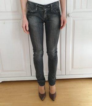 Levis Tube jeans grijs
