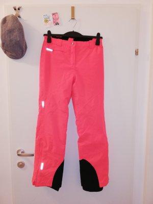 Snow Pants black-pink