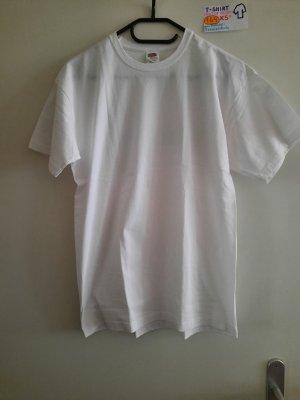 XS T Shirt weiß mit Tennis logo
