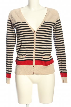 Xside Cardigan striped pattern casual look