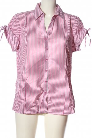Xside Short Sleeve Shirt pink-white allover print casual look