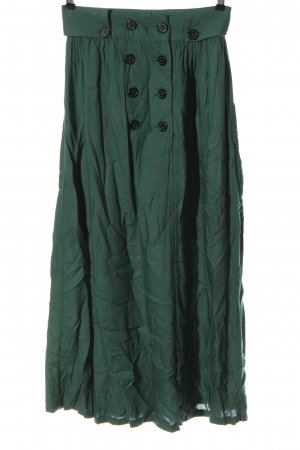 Xside Maxi Skirt green flecked casual look