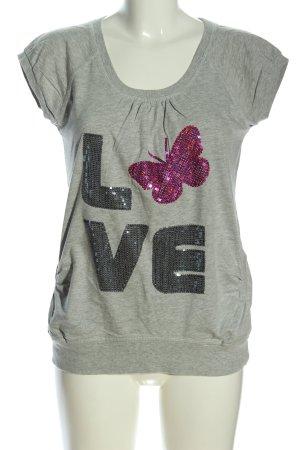Xside Print Shirt flecked casual look