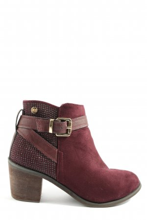 Xti Booties rot Casual-Look