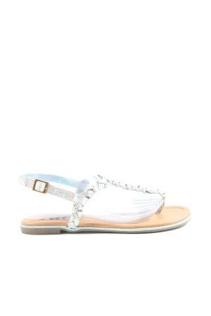 Xti Sandalo Dianette argento stile casual