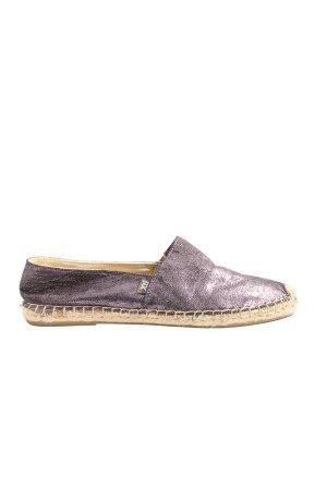 Xti Espadrille Sandals lilac glittery