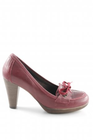 Xti High Heels bordeauxrot klassischer Stil
