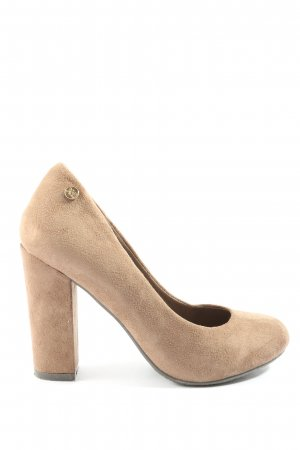 Xti High-Front Pumps nude casual look