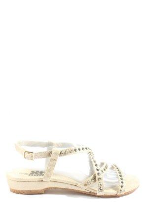 Xti Komfort-Sandalen wollweiß Casual-Look
