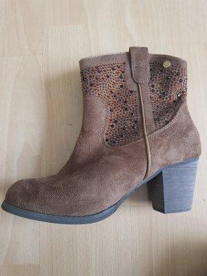 Xti Western Booties brown