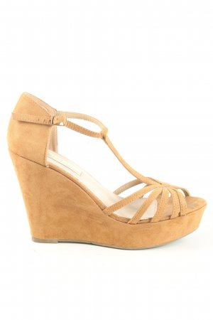 Xti Wedge Sandals light orange casual look