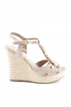 Xti Wedges Sandaletten creme Casual-Look