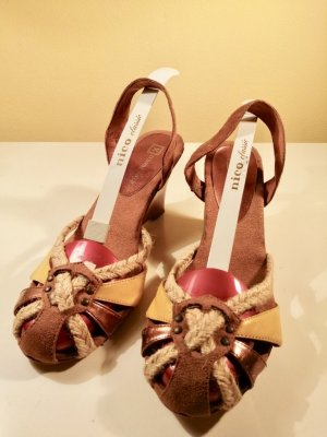 Xtravaganza Wedges Slingback Gr. 40 Sommer