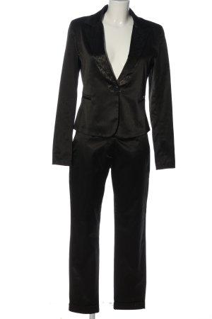 xtsy Tailleur-pantalon noir style d'affaires